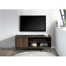 """See Details - 2027 DARK WALNUT Faux Wood TV Stand - 47"""" L"""
