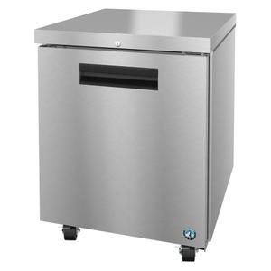 HoshizakiUF27A-01, Freezer, Single Section Undercounter, Stainless Door with Lock