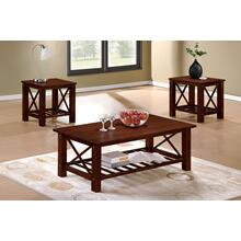 Annisa 3pc Coffee Table Set