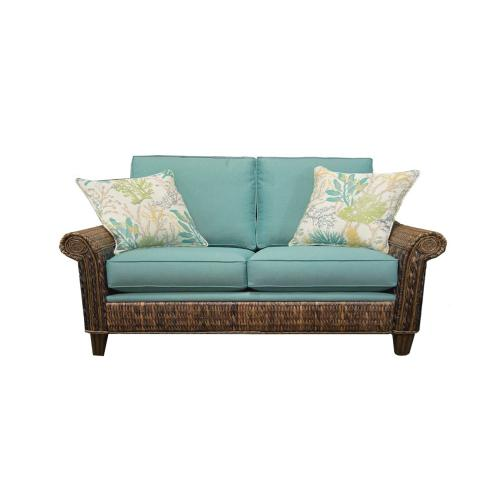 Loveseat, Available in Seagrass Finish.