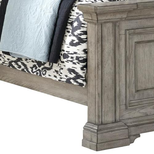 Pulaski Furniture - Madison Ridge California King Panel Side Rails in Heritage Taupe