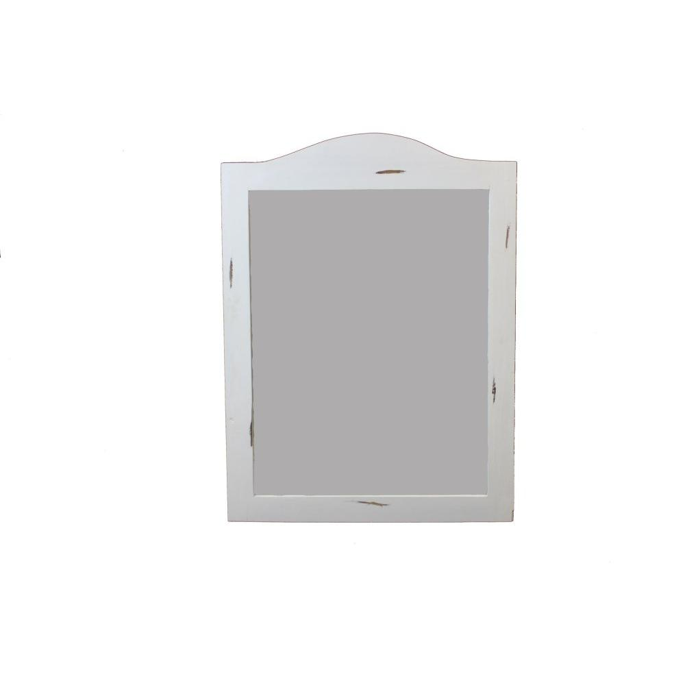 White Promo Mirror
