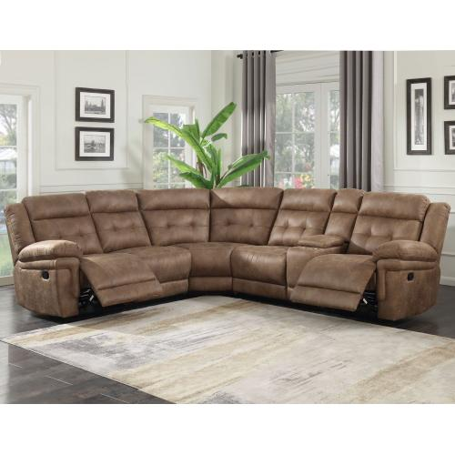 Anastasia 3-Piece Manual Reclining Sectional
