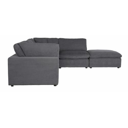 5-Piece Modular Sectional with Ottoman