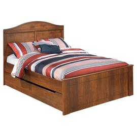 Barchan Full Panel Bed With Trundle