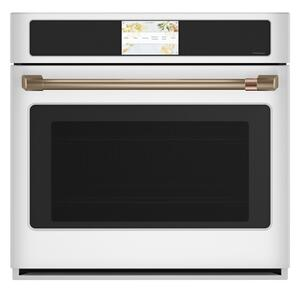"""CafeProfessional Series 30"""" Smart Built-In Convection Single Wall Oven"""