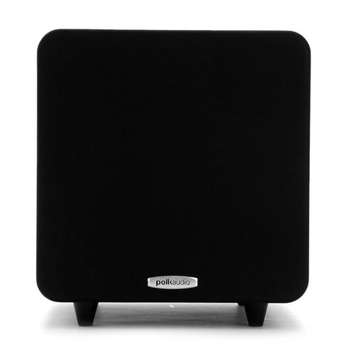 8-Inch 300 Watt Compact Powered Subwoofer in Black