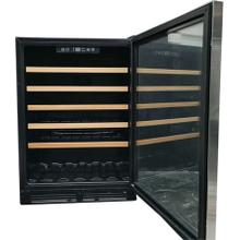 51 Bottles Single Zone Built-In Wine Chiller