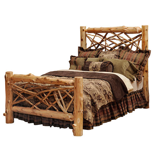 Twig Bed - Cal King - Natural Cedar