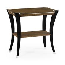 Rectangular End Table in American Walnut