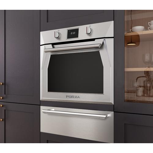 Forzacucina - 30 Inch Single Dual Convection Electric Wall Oven