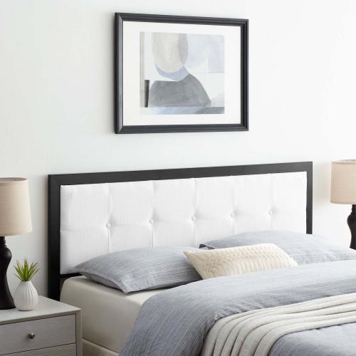 Modway - Teagan Tufted Queen Headboard in Black White