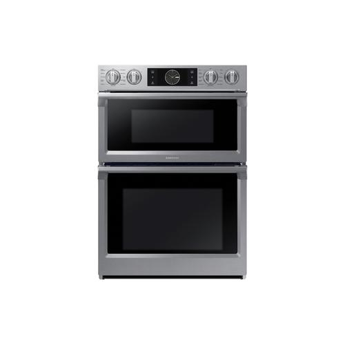 "30"" Smart Microwave Combination Wall Oven with Flex Duo™ in Stainless Steel"