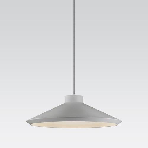 Sonneman - A Way of Light - Koma Edo Pendant [Color/Finish=Bright Satin Aluminum, Base Type=GU24]