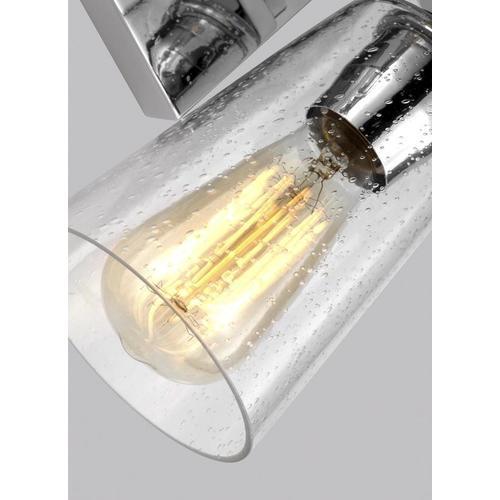 Mercer 2 - Light Vanity Chrome