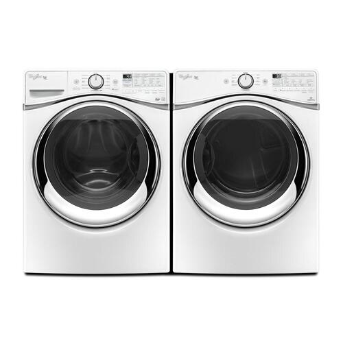 7.3 cu. ft. Duet® Front Load Gas Steam Dryer with SilentSteel & trade Dryer Drum-New Open Box/Discontinued Model/Excellent Condition/ Pick up Linthicum ID:260870