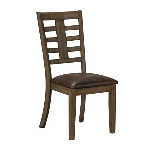 Standard Furniture - Canaan Brown 2-Pack Side Chair