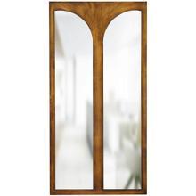 See Details - TURNER MIRROR- BRONZE  Bronze Finish on Resin Frame  Plain Glass Beveled Mirror