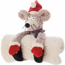 "Plushlines N0609 Grey 11"" X 1'5"" Plush Animal"