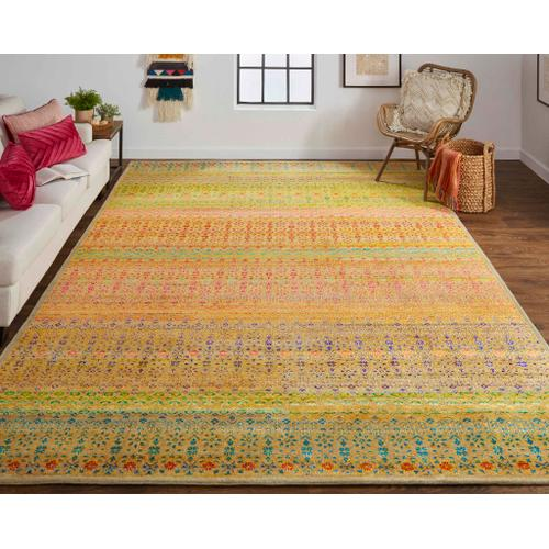 Feizy - LATHAM 6629F IN YELLOW-MULTI