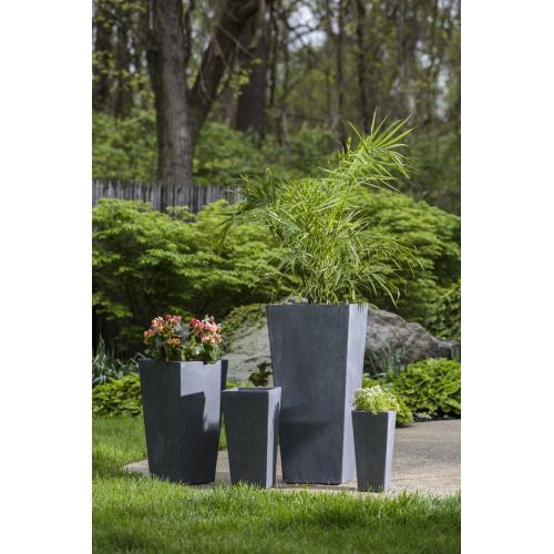 Tall Square Burrow Planter - Set of 4