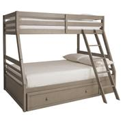 Lettner Twin Over Full Bunk Bed With 1 Large Storage Drawer Product Image
