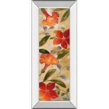 """Tropical Delight I"" By Nan Mirror Framed Print Wall Art"