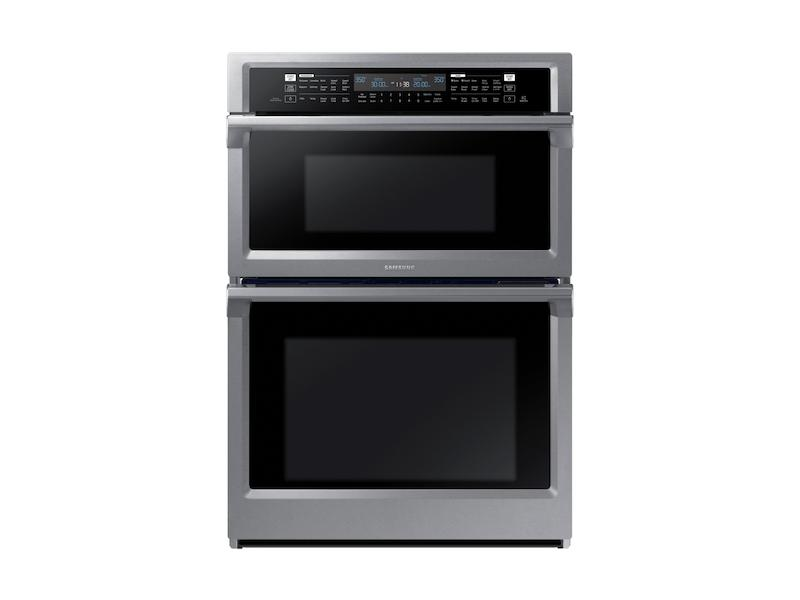 """Samsung30"""" Microwave Combination Wall Oven In Stainless Steel"""