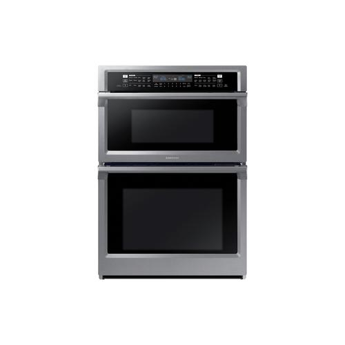 "30"" Smart Microwave Combination Wall Oven with Steam Cook in Stainless Steel"