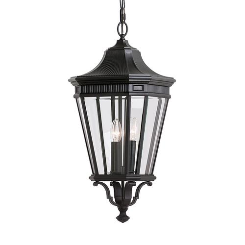 Cotswold Lane Medium Pendant Black