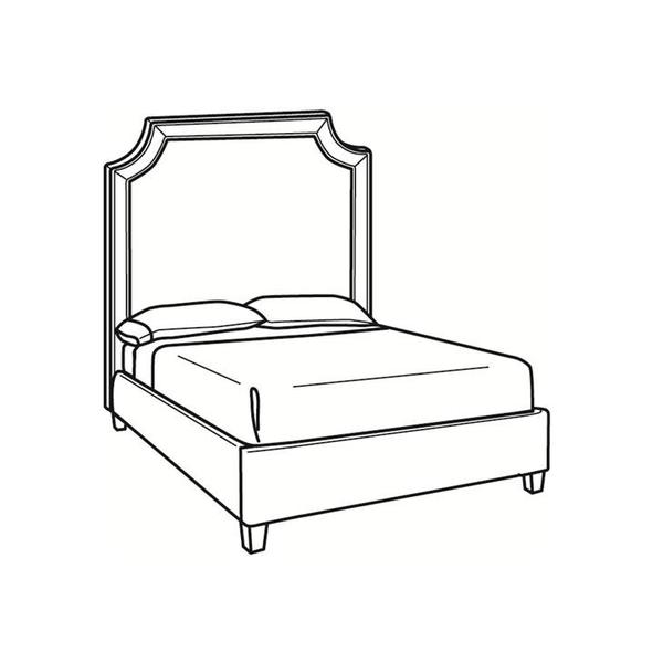 See Details - Queen Bed with Tall Headboard