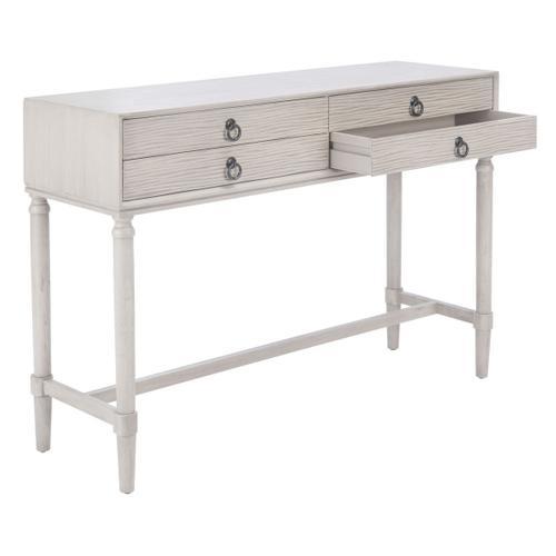 Safavieh - Aliyah 4 Drawer Console Table - Greige