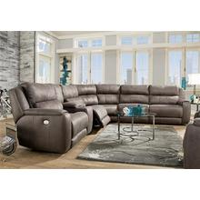 See Details - Dazzle Power Sectional W/Adjustable Headrest