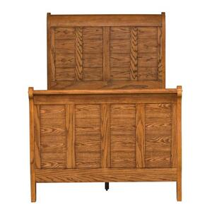 Liberty Furniture Industries - Twin Sleigh Bed, Dresser & Mirror