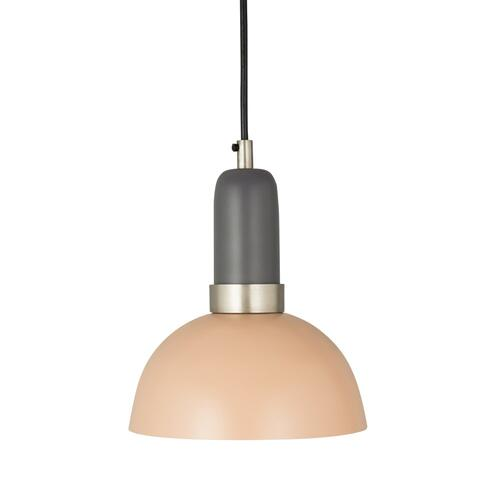 Tov Furniture - Juku Blush/Grey Small Pendant