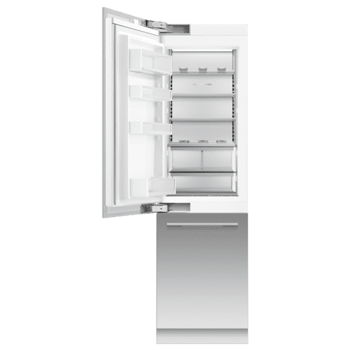 "Integrated Refrigerator Freezer, 24"", Ice & Water"
