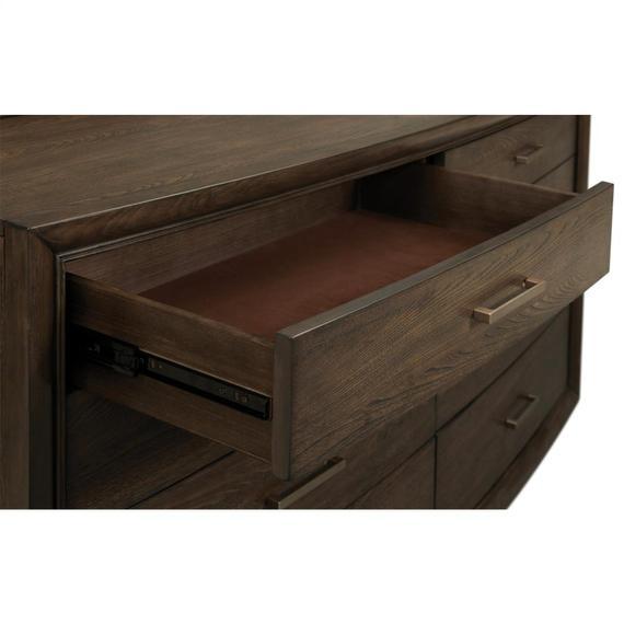 Riverside - Monterey - Eight Drawer Dresser - Mink Finish