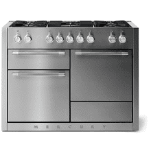 "See Details - Aga Mercury 48"" Dual Fuel Model, Stainless Steel"