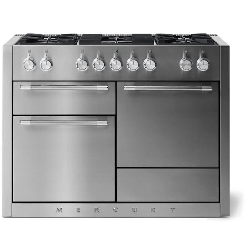 "Aga Mercury 48"" Dual Fuel Model, Stainless Steel"