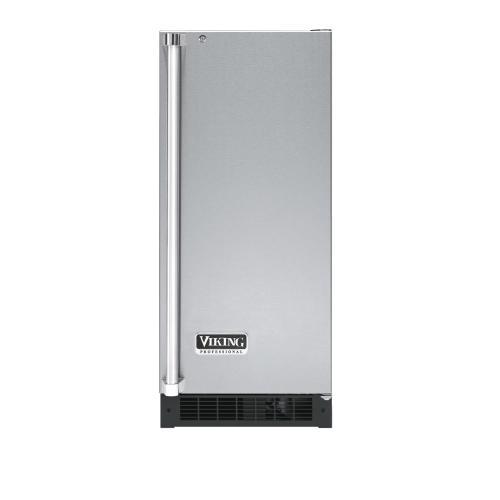 """Viking - Stainless Steel 15"""" Solid Door Wine Cellar - VUWC (Right Hinge Solid Door)"""