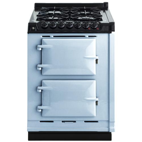 "AGA Module 24"" Electric/Natural Gas Duck Egg Blue with Stainless Steel trim"