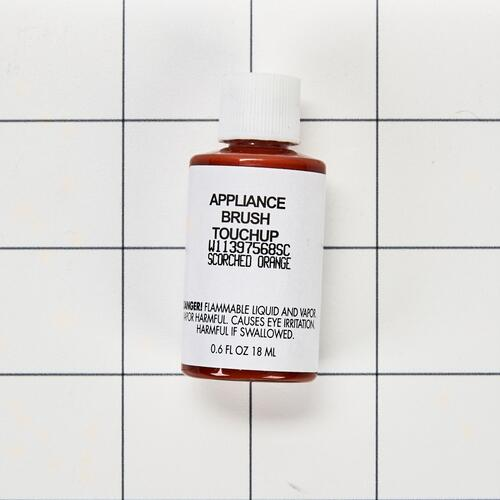 Appliance Touchup Paint Bottle, Scorched Orange - Other