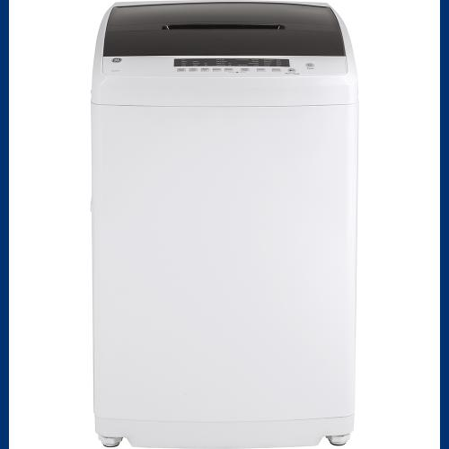 GE® Space-Saving 3.3 IEC Cu. Ft. Capacity Stationary Washer with Stainless Steel Basket White - GNW128SSMWW