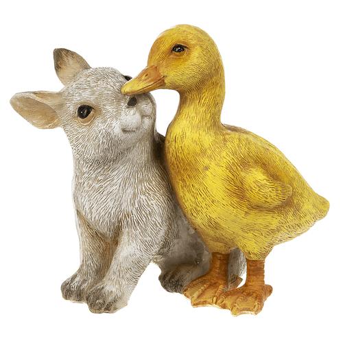 Springtime Pals - Duck & Bunny Figurine (was EA16611)