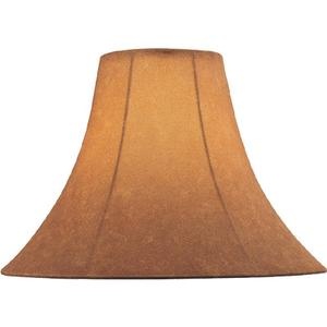 "Suede Bell Shade - 7""TX18""BX12.50""SL"