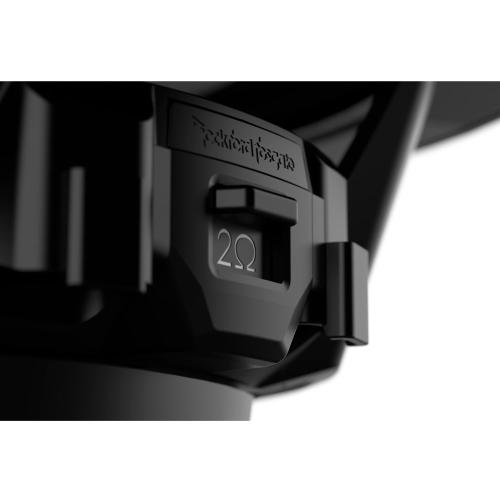 """Rockford Fosgate - M2 10"""" DVC 4 Color Optix™ Sealed Enclosure Marine Subwoofer - Black"""