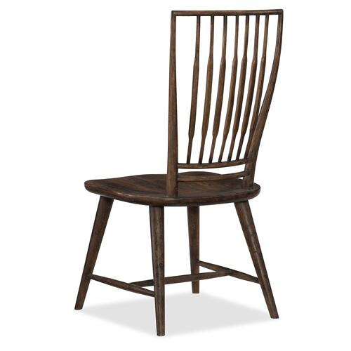 Roslyn County Spindle Back Side Chair - 2 per carton/price ea