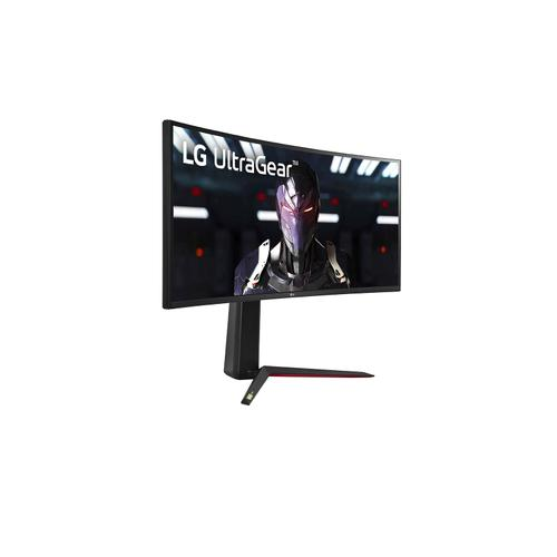 LG - 34'' UltraGear Curved WQHD Nano IPS 1ms 144HZ HDR 400 Monitor with G-SYNC Compatibility