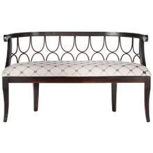 See Details - Nrma Upholstered Bench - Grey / Beige