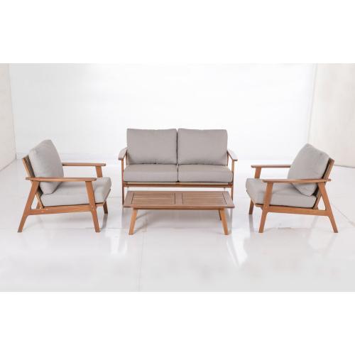 Kate Karri Gum FSC KD Deep Seating Love Seat w/ Sunbrella cushion